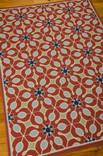 Load image into Gallery viewer, Nourison Caribbean Rust Area Rug CRB07 RUS