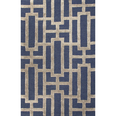 Nourison Ashton House Black Area Rug AS03 BLK (Rectangle)