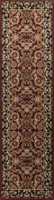 Load image into Gallery viewer, Kas Rugs Cambridge 7301 Red/Black Kashan Area Rug
