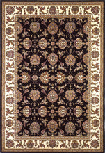 Load image into Gallery viewer, Kas Rugs Cambridge 7313 Black/Ivory Kashan Area Rug