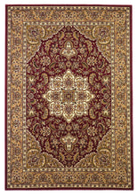 Load image into Gallery viewer, Kas Rugs Cambridge 7326 Red/Beige Kashan Medallion Area Rug