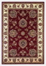Load image into Gallery viewer, Kas Rugs Cambridge 7340 Red /Ivory Floral Mahal Area Rug