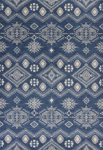 Kas Rugs Carmen 7602 Denim Journey Area Rug