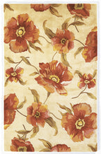 Load image into Gallery viewer, Kas Rugs Catalina 0766 Ivory Poppies Area Rug