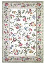 Load image into Gallery viewer, Kas Rugs Colonial 1707 Ivory Floral Vine Area Rug