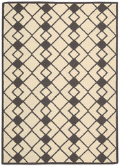 Nourison Decor Ivory Grey Area Rug DER03 IVGRY