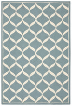 Load image into Gallery viewer, Nourison Decor Aqua White Area Rug DER06 AQUWT