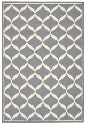 Nourison Decor Slate White Area Rug DER06 SLTWT