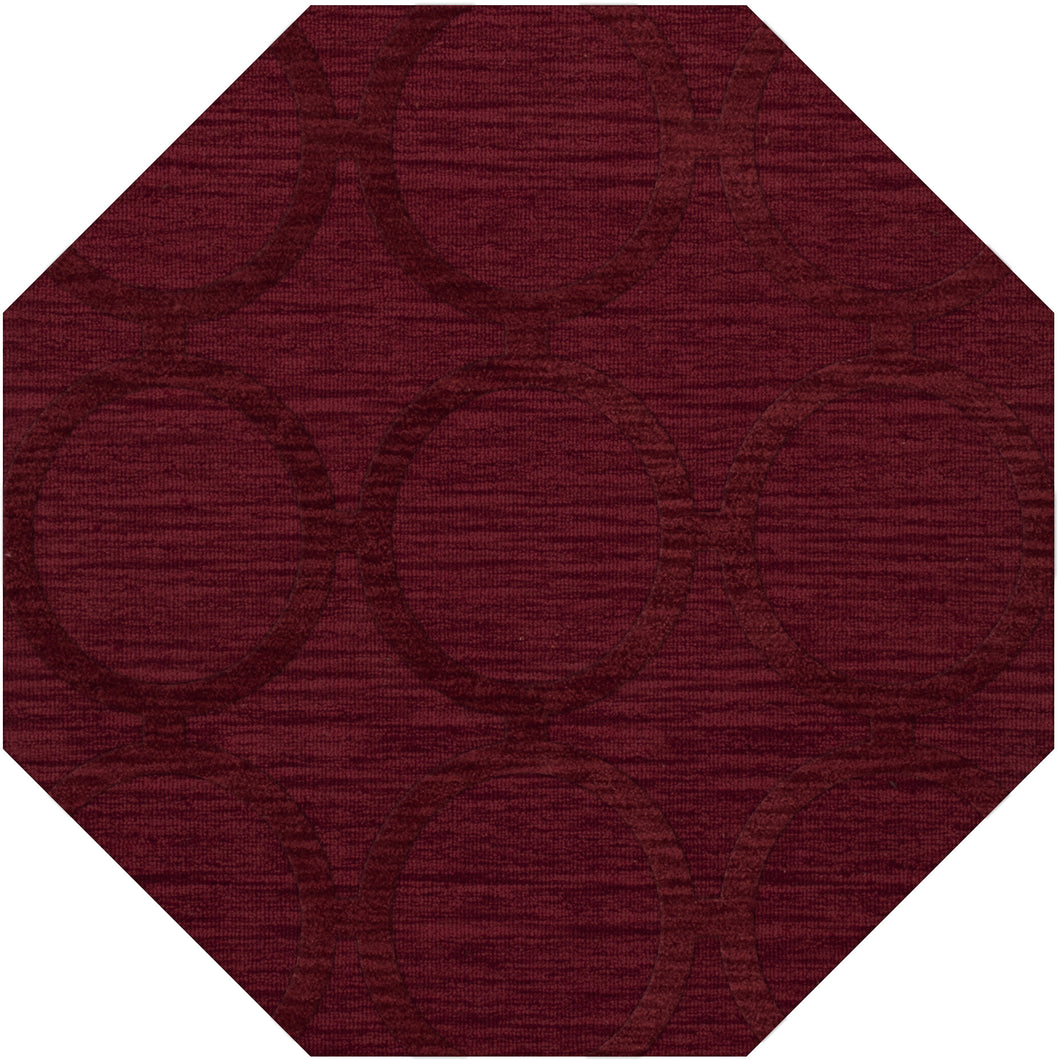 Dalyn Dover Rich Red Dv14 Area Rug