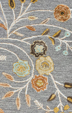 Load image into Gallery viewer, Rizzy Home Eden Harbor EH8636 Gray Floral Area Rug
