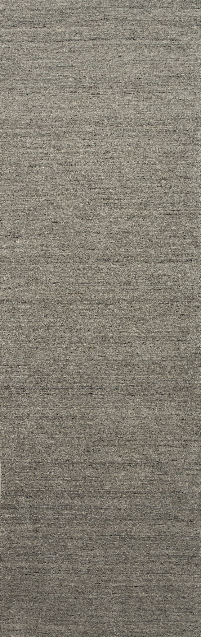 Jaipur Rugs Handloom Solid Pattern Gray/Ivory Wool Area Rug