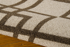 Nourison Enhance Latte Area Rug EN002 LAT