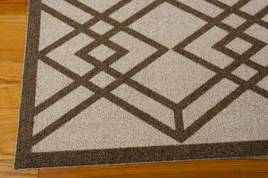 Nourison Enhance Latte Area Rug EN002 LAT (Rectangle)
