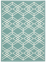 Load image into Gallery viewer, Nourison Enhance Turquoise Area Rug EN002 TUR