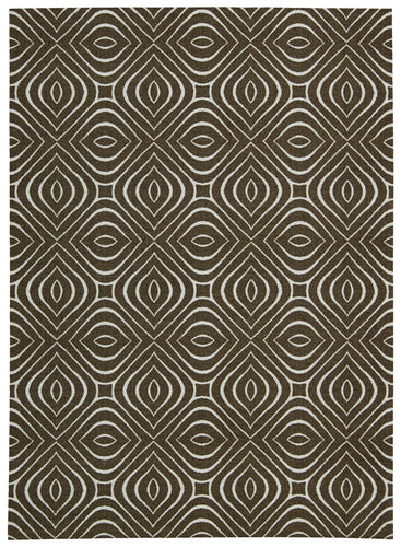 Nourison Enhance Chocolate Area Rug EN004 CHO