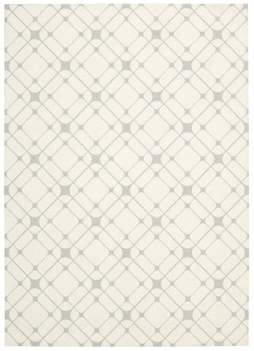 Nourison Enhance Ivory Grey Area Rug EN005 IVGRY