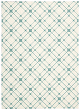 Load image into Gallery viewer, Nourison Enhance Ivory Turquoise Area Rug EN005 IVTUR