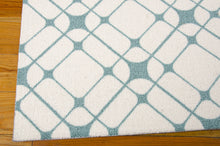 Load image into Gallery viewer, Nourison Enhance Ivory Turquoise Area Rug EN005 IVTUR (Rectangle)