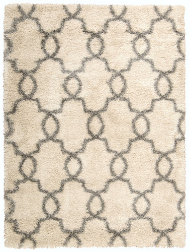 Nourison Escape White Shades Area Rug ESCP2 WHTSD