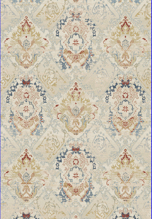 Dynamic Rugs Essence Ivory Multi Distressed Rectangle Area