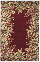 Load image into Gallery viewer, Kas Rugs Emerald 9017 Ruby Tropical Border Area Rug