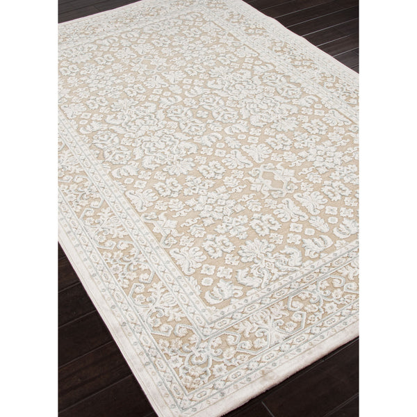 Jaipur Rugs Transitional Oriental Pattern Taupe Ivory
