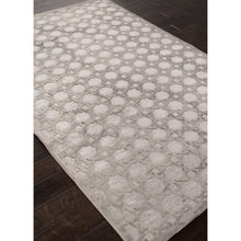 Load image into Gallery viewer, Jaipur Rugs Modern Geometric Pattern Gray Rayon and Chenille Area Rug FB46 (Rectangle)