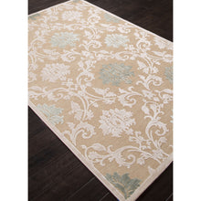 Load image into Gallery viewer, Jaipur Rugs Transitional Floral Pattern Ivory/White Rayon and Chenille Area Rug FB88 (Rectangle)