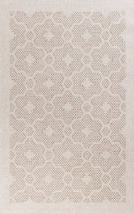 Kas Rugs Farmhouse 3202 Beige Mosaic Area Rug