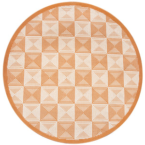 Rizzy Home Glendale GD7007 Orange Geometric Area Rug