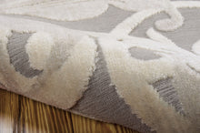 Load image into Gallery viewer, Nourison Graphic Illusions Grey Camel Area Rug GIL01 GYCAM