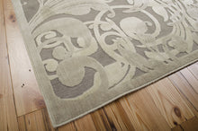 Load image into Gallery viewer, Nourison Graphic Illusions Grey Camel Area Rug GIL01 GYCAM (Rectangle)