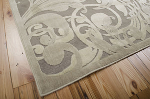 Nourison Graphic Illusions Grey Camel Area Rug GIL01 GYCAM (Rectangle)