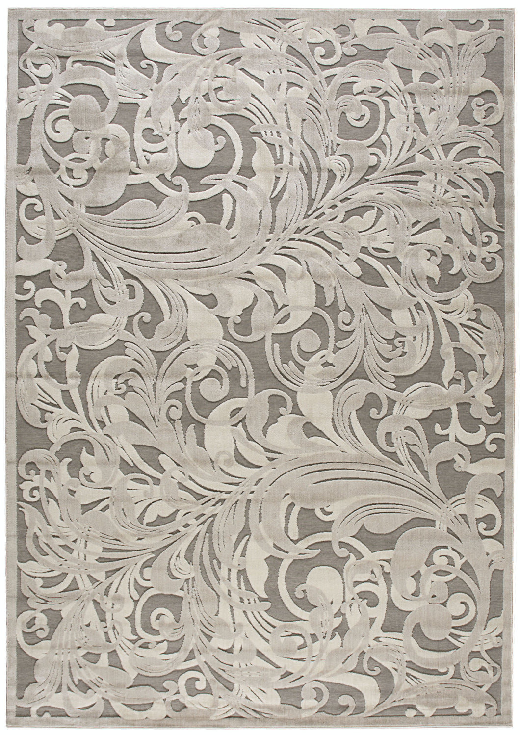Nourison Graphic Illusions Grey Camel Area Rug GIL01 GYCAM