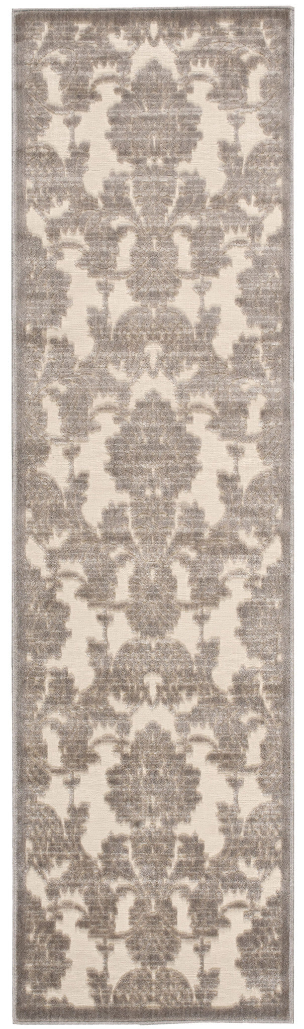 Nourison Graphic Illusions Ivory Latte Area Rug GIL03 IVLAT