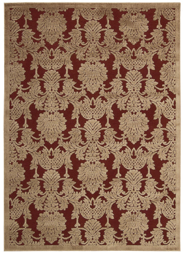Nourison Graphic Illusions Red Area Rug GIL03 RED