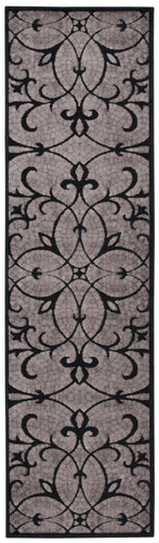 Nourison Graphic Illusions Black Area Rug GIL05 BLK