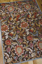 Load image into Gallery viewer, Nourison Graphic Illusions Brown Area Rug GIL06 BRN