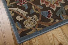 Load image into Gallery viewer, Nourison Graphic Illusions Brown Area Rug GIL06 BRN (Rectangle)
