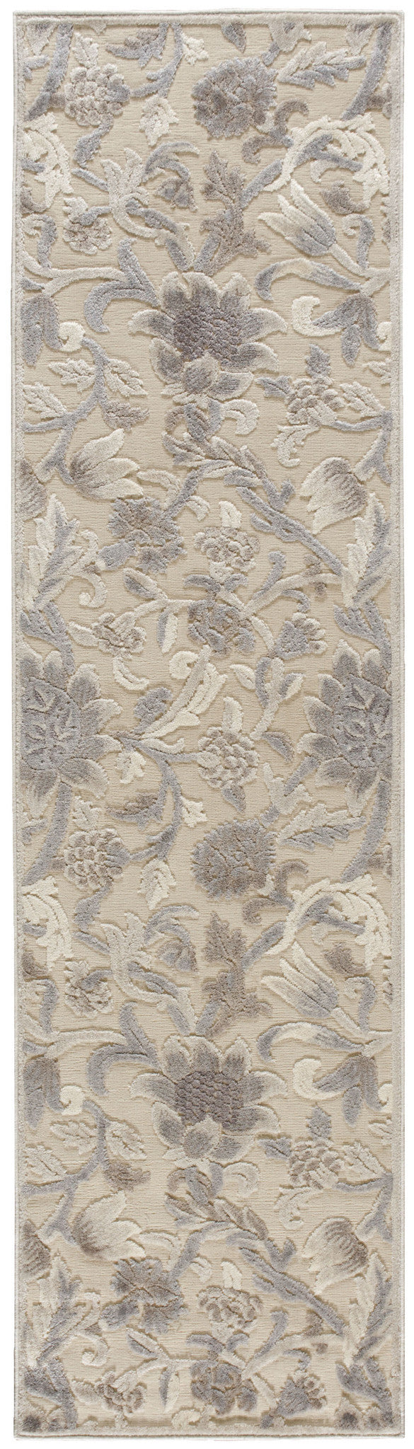 Nourison Graphic Illusions Ivory Area Rug GIL06 IV