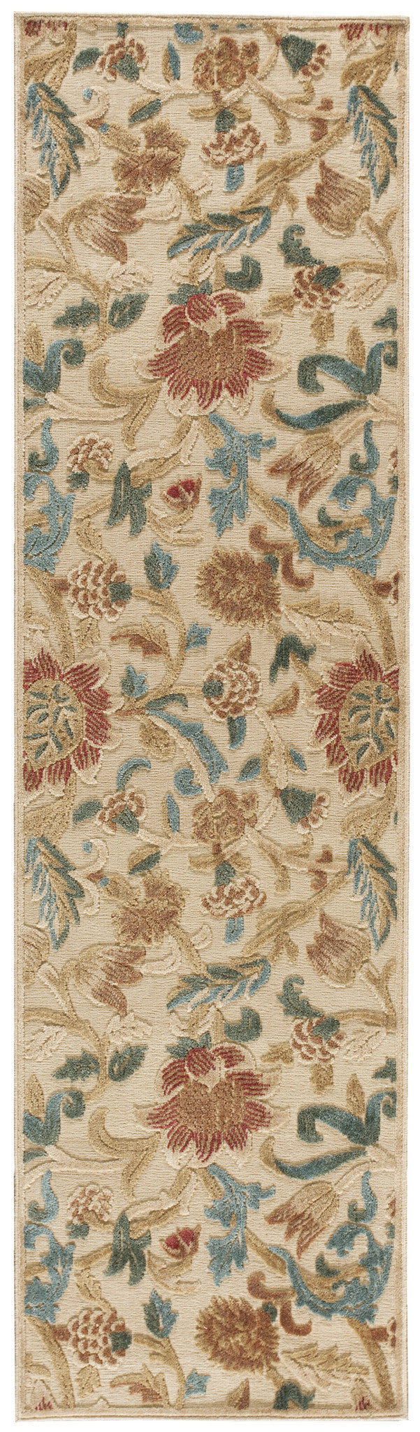 Nourison Graphic Illusions Light Gold Area Rug GIL06 LGD