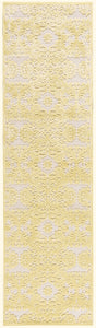 Nourison Graphic Illusions Yellow Area Rug GIL07 YEL