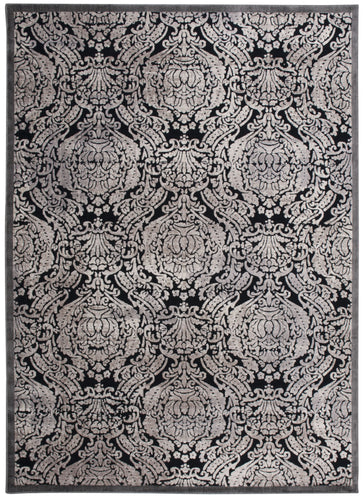 Nourison Graphic Illusions Black Area Rug GIL09 BLK