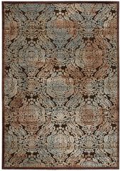 Nourison Graphic Illusions Chocolate Area Rug GIL09 CHO