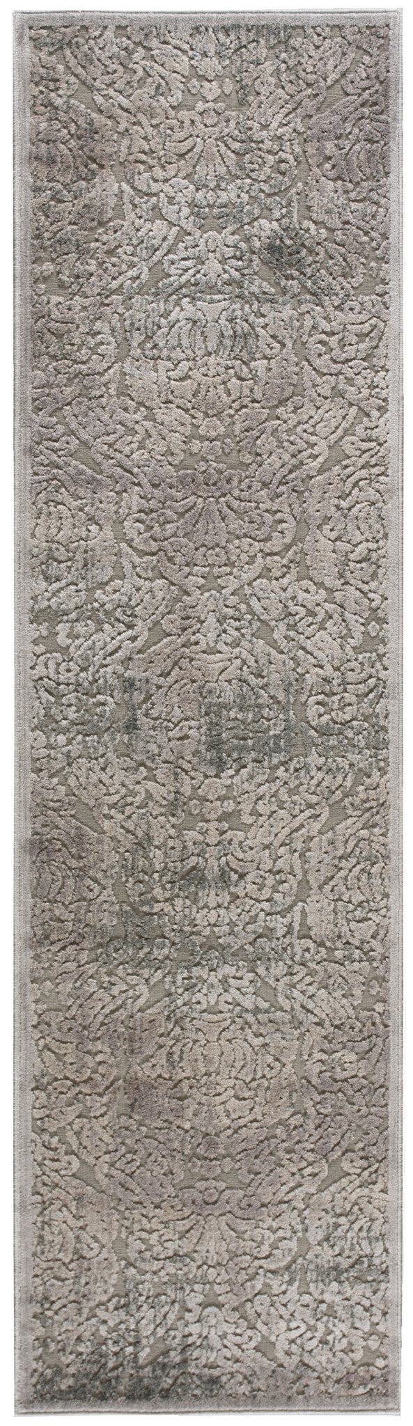 Nourison Graphic Illusions Grey Area Rug GIL09 GRY