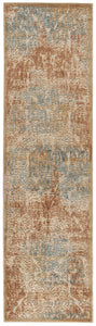 Nourison Graphic Illusions Light Gold Area Rug GIL09 LGD