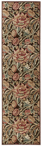 Nourison Graphic Illusions Brown Area Rug GIL10 BRN
