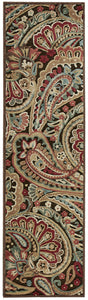 Nourison Graphic Illusions Multicolor Area Rug GIL14 MTC