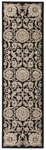 Nourison Graphic Illusions Black Area Rug GIL17 BLK
