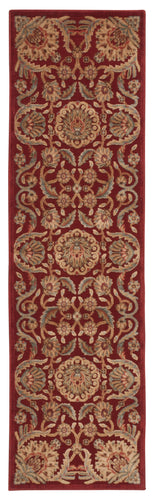 Nourison Graphic Illusions Red Area Rug GIL17 RED